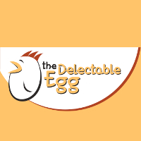 The Delectable Egg (Court) Logo