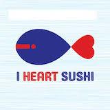 I Heart Sushi Logo