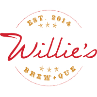 Willies Brew and Que Logo