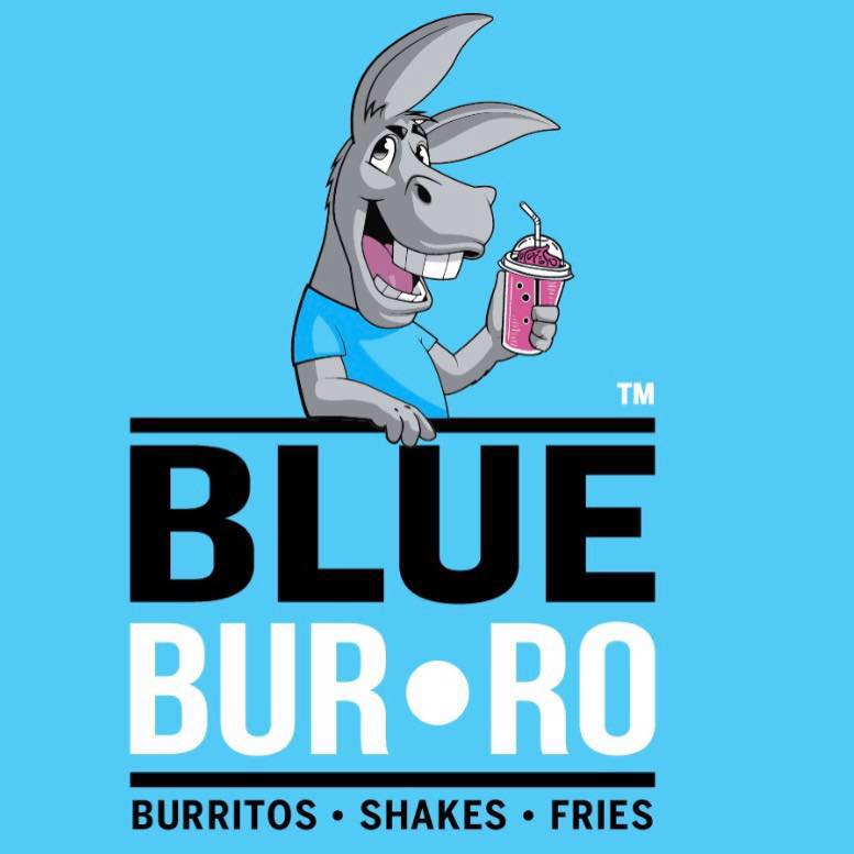 Blue Burro - Long Beach Logo