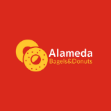 Alameda Bagels and Donuts Logo