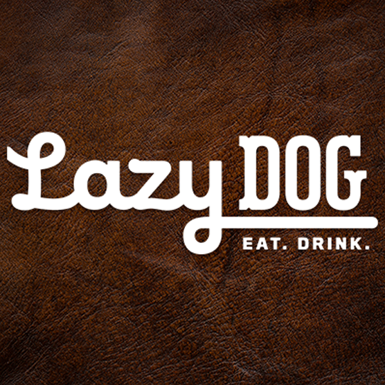 Lazy Dog Restaurant & Bar (Orange) Logo