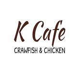 K Cafe Crawfish and Chicken  Logo