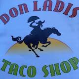 Don Ladis Taco Shop Logo