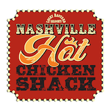 Lucky Bastard Saloon's Nashville Hot Chicken Shack Logo