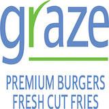 Graze Premium Burgers (Broadway & Leonora) Logo