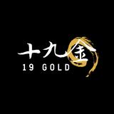 19 Gold Logo