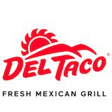 Del Taco (17501 Beach Blvd   821) Logo
