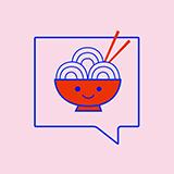 Send Noods (8165 SE Ash St) Logo