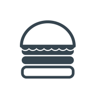 Lightning Burger Logo