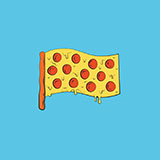 The United Pepperonis of Pizza Logo