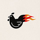 Just Wing It. Logo