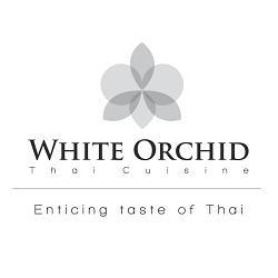 White Orchid Thai Cuisine Logo