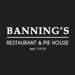 Banning's Restaurant and Pie House Logo