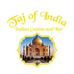 Taj of India Restaurant Logo