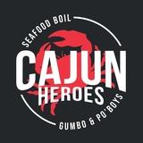 Cajun Heroes Seafood Boil, Gumbo, and Po'boys Logo