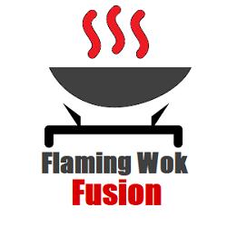 Flaming Wok Fusion Logo