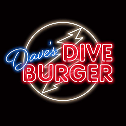 Dave's Dive Burger Logo