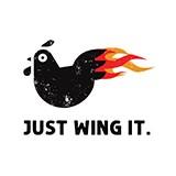 Just Wing It. Logo