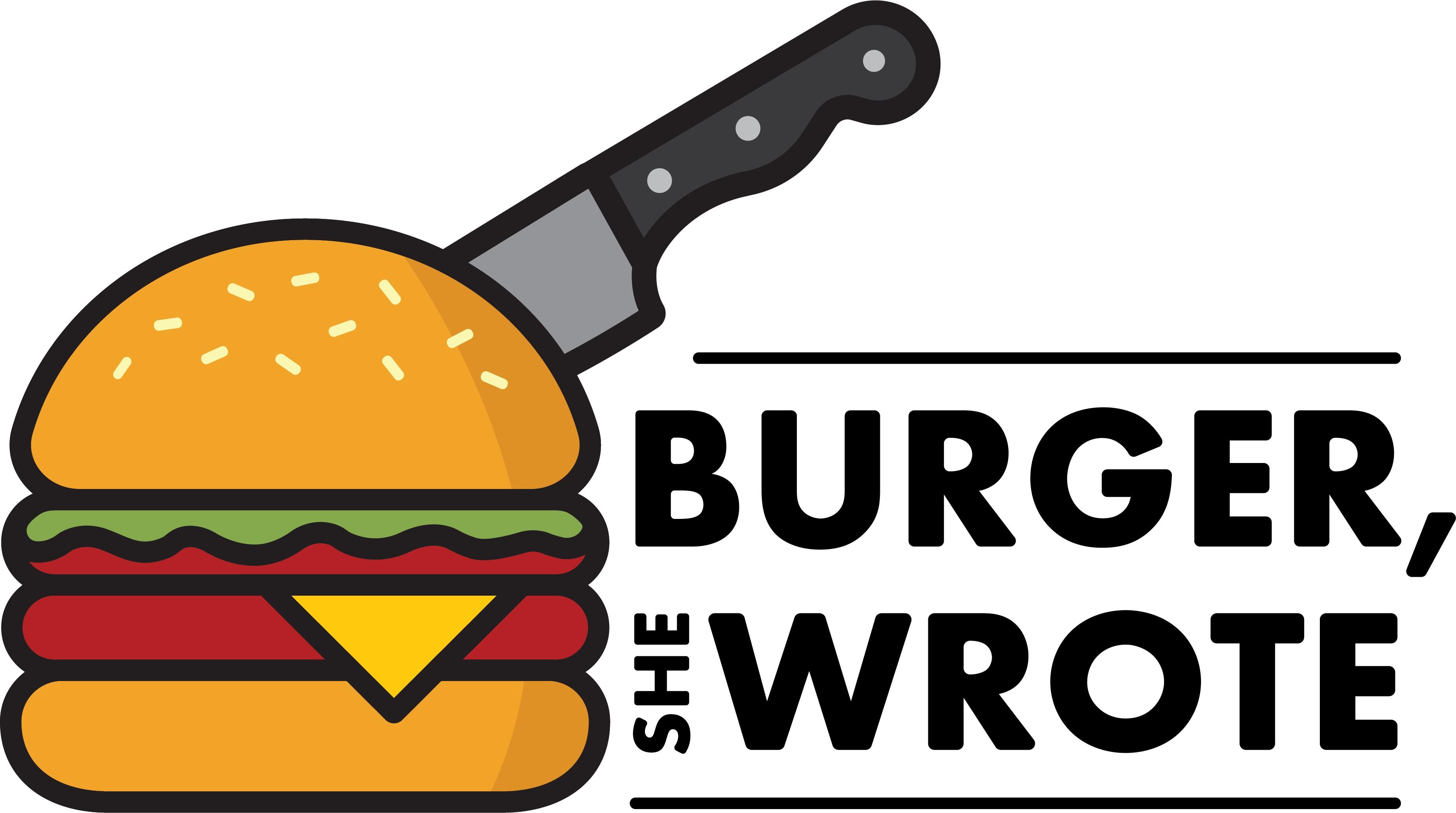 Burger, She Wrote Logo