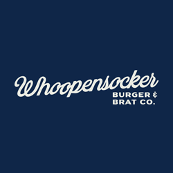 Whoopensocker Burger & Brat Co. - Hilldale Logo