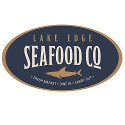 Lake Edge Fresh Seafood Market Logo