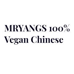 MRYANGS 100% Vegan Chinese Logo