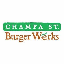 Champa St. Burger Works Logo
