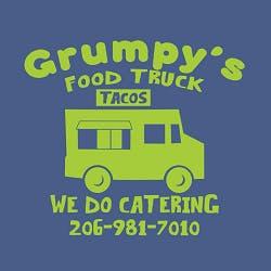 Grumpy's Food Truck Logo