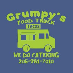 Grumpy's Food Truck Ballard Logo