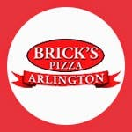 Brick's Pizza Delivery Logo