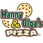 Manny & Olgas Pizza Logo