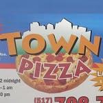 Town Pizza Logo