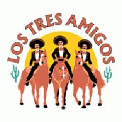 Los Tres Amigos - Allegan St. Logo