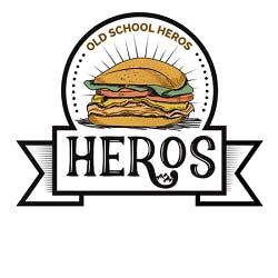 Old School Heros Logo