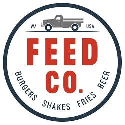 Feed Co. Burgers - Green Lake Logo