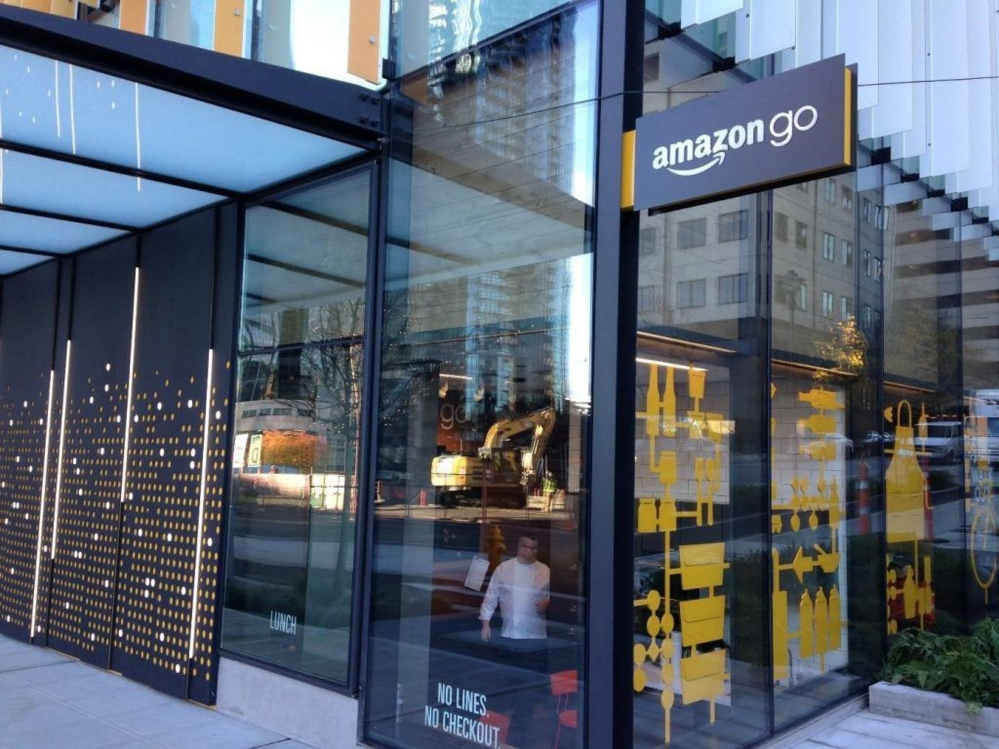 Background Image for What does the first Amazon Go tell us about the future.