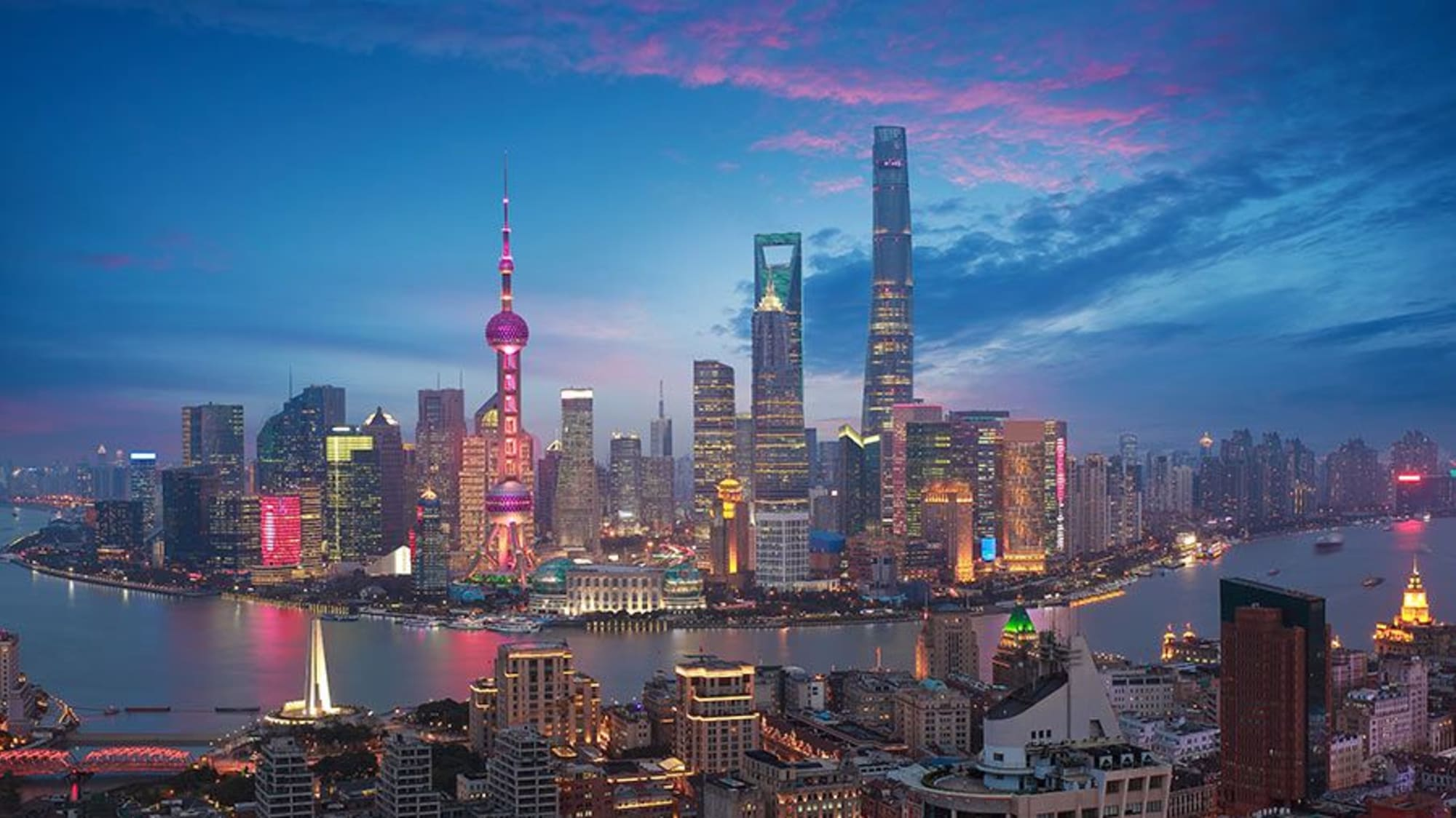 Background Image for Shanghai – A Flagship City