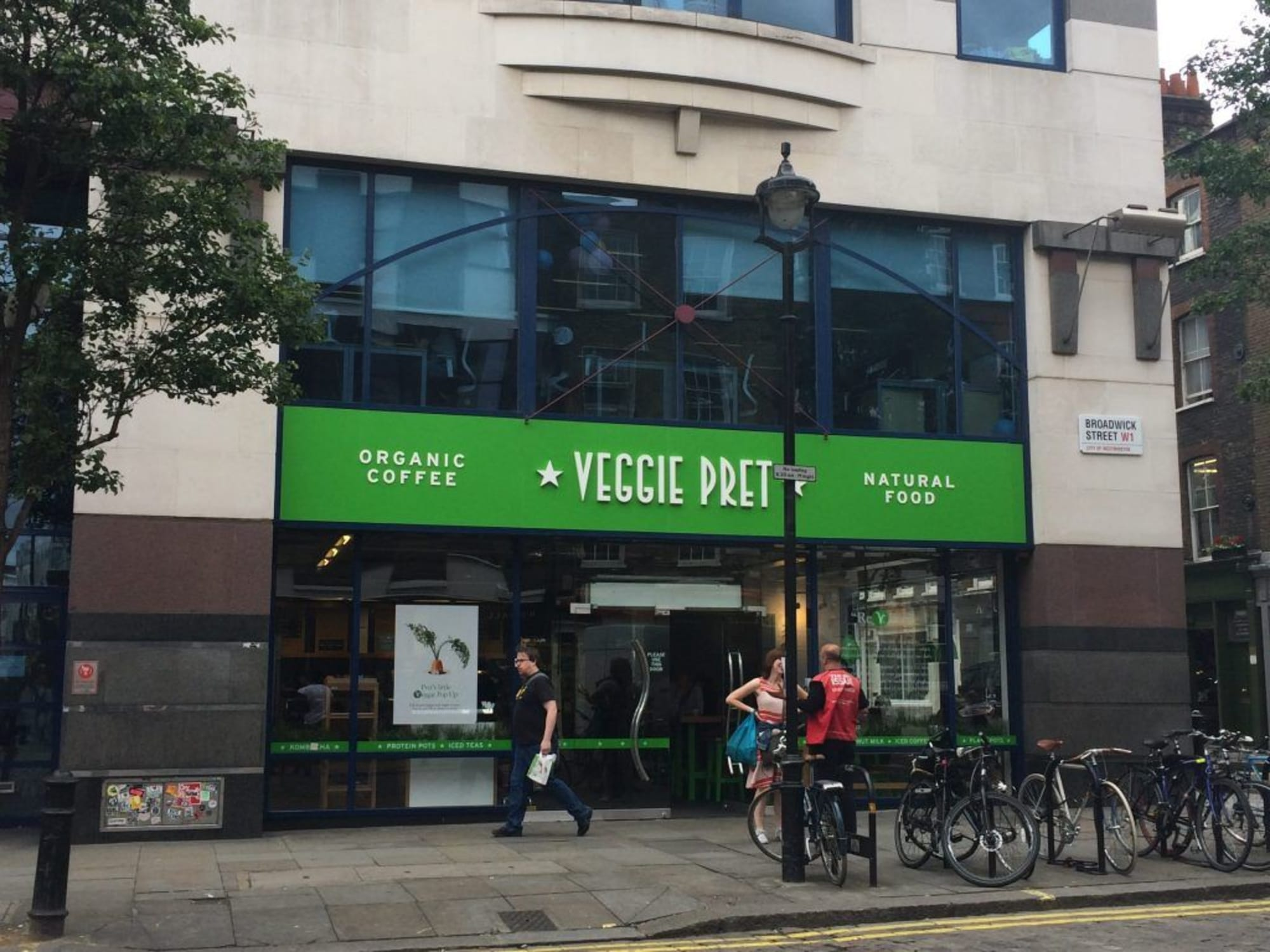 Background Image for Veggie Pret – Not just for Veggie's