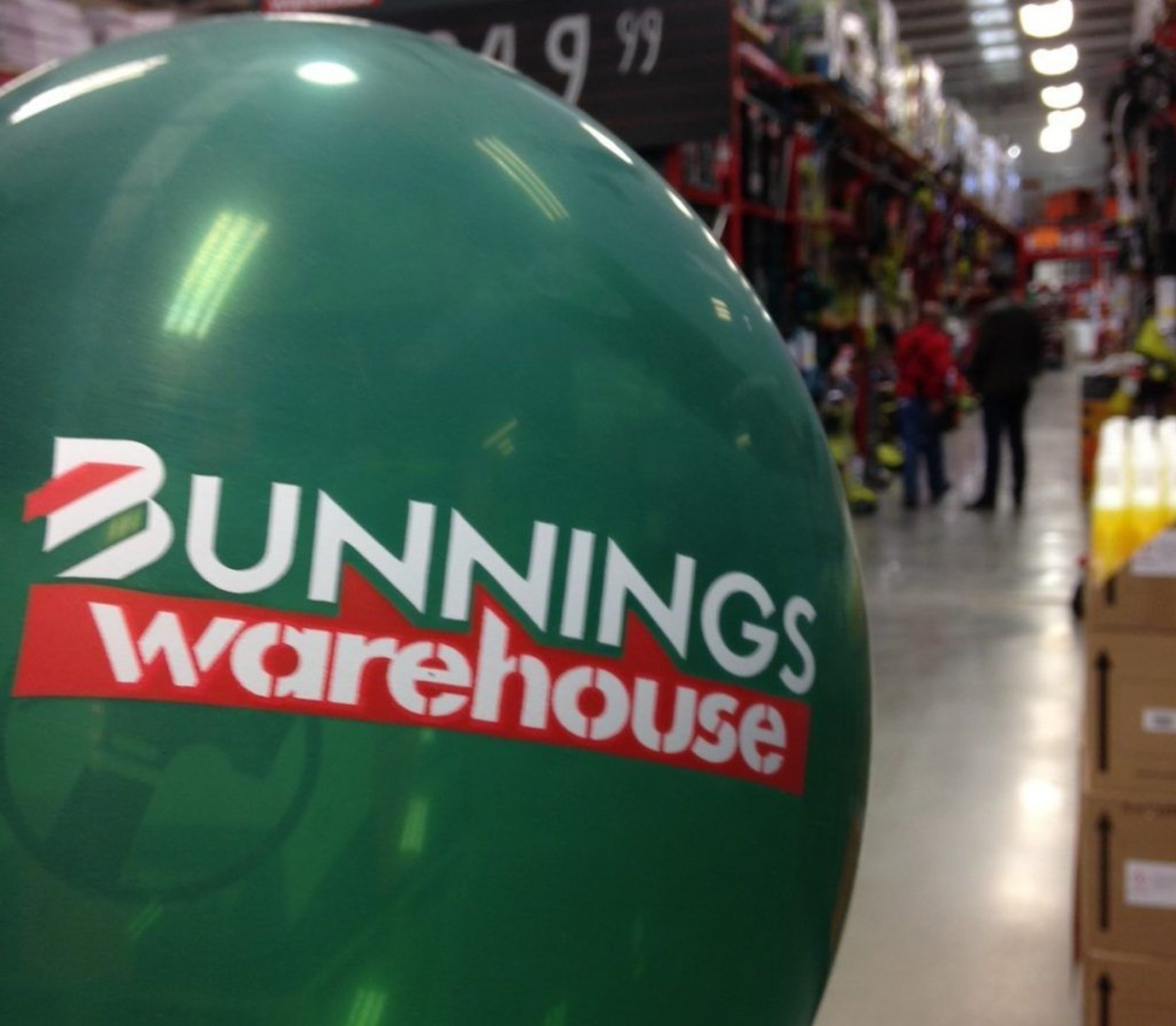 Background Image for Bunnings first UK opening: An Aussie sausage sizzle in the snow