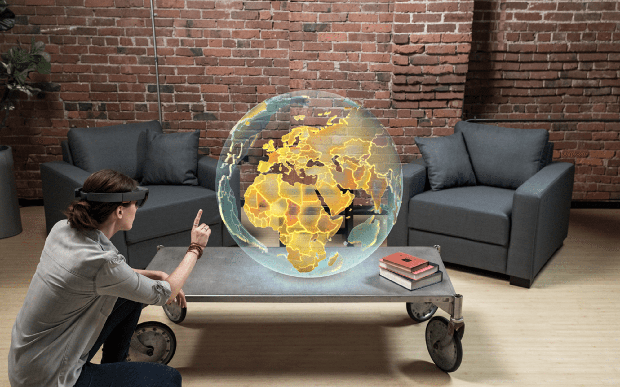 Background Image for Augmented Reality in the Physical Retail Space