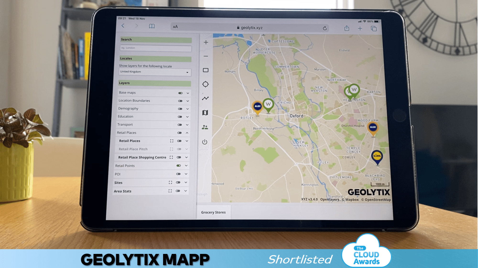 Background Image for MAPP shortlisted for best Business Intelligence & Analytics Solution at the Cloud Awards 2020