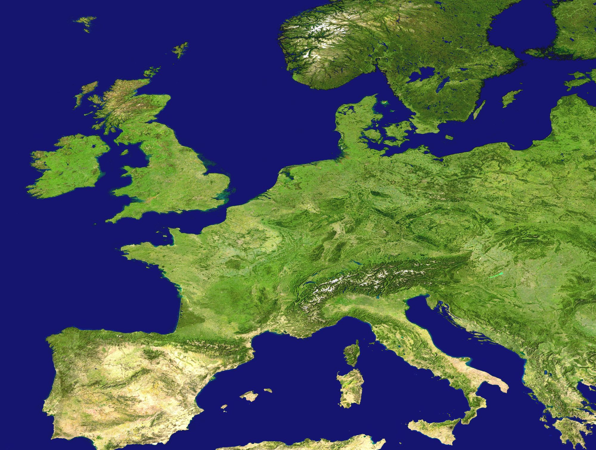 Background Image for European Census Data and Boundaries