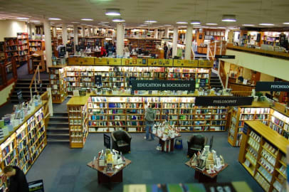 Blackwell's and the book buying experience