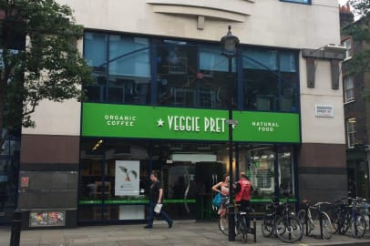 Veggie Pret – Not just for Veggie's