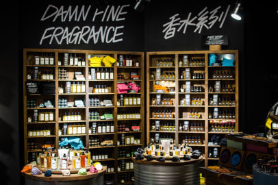 Lush and the war on plastic