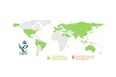 Geolytix wins a Queen's Award for Enterprise for International Trade