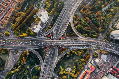 Modelled Traffic Volumes - a new product in our Road & Network data pack