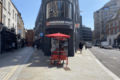Marugame Udon - Liverpool Street's new lunch and evening spot