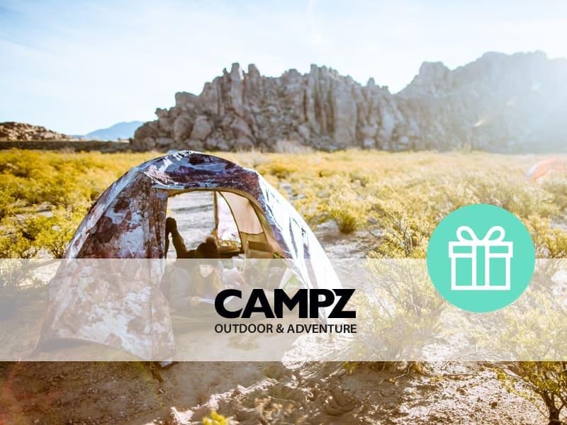 Campz Gutschein Sichere Dir bis zu 15% Rabatt | Outdoor